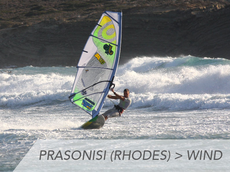 Prasonisi (Rhodes) | Windsurf | 9 – 16 Septembre 2018