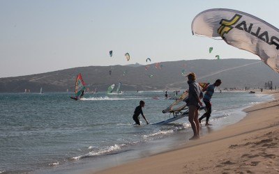 Coaching Windsurf à Prasonisi, semaine 1